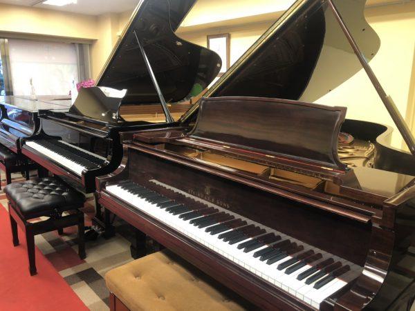 【入荷情報】「幻のスタインウェイピアノ」STEINWAY&SONS(スタインウェイ&サンズ) A3を2台展示中