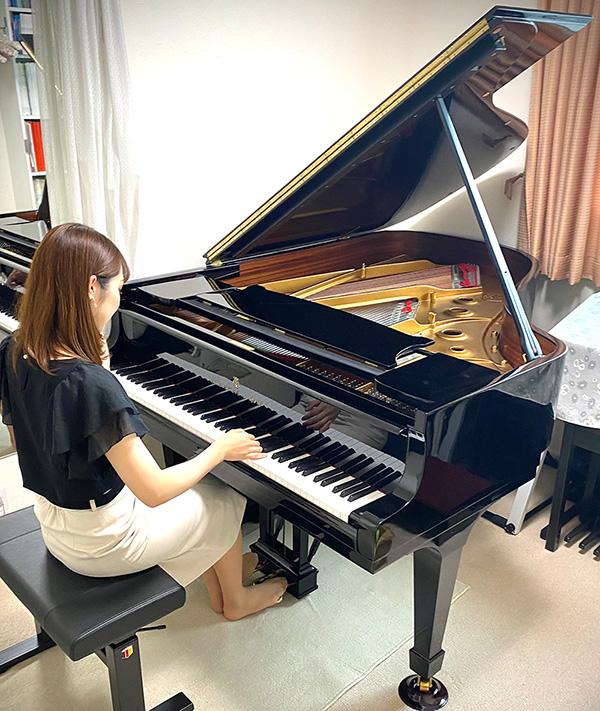 お客様の声:今後音楽人生を共に歩む素敵な楽器に巡り会うことができました 東京都 M様 スタインウェイA-188購入